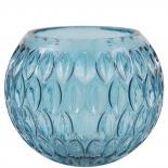 CANDLE HOLDER EVONNE BLUE