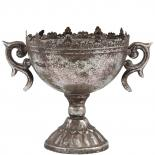 POT HELIA LARGE SILVER