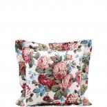 CUSHION COVER LIGHT ROSES 45 X 45
