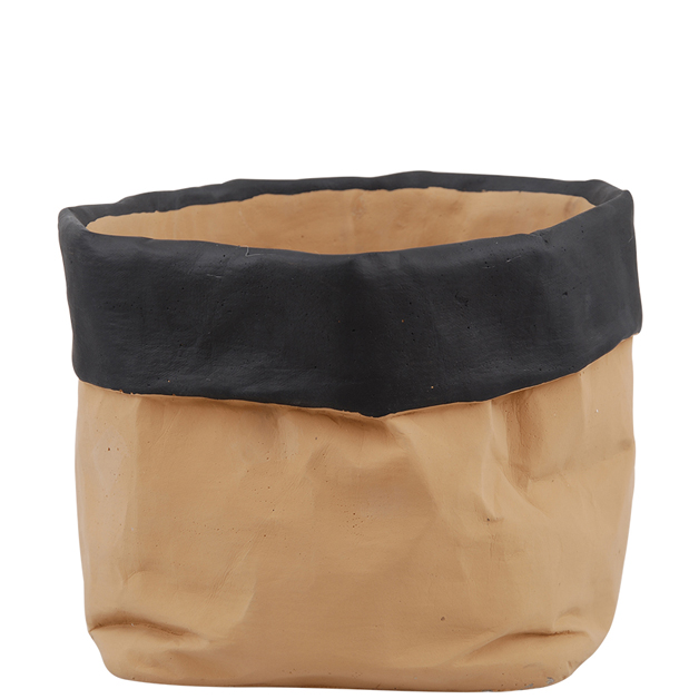 paperbag pot cement xl