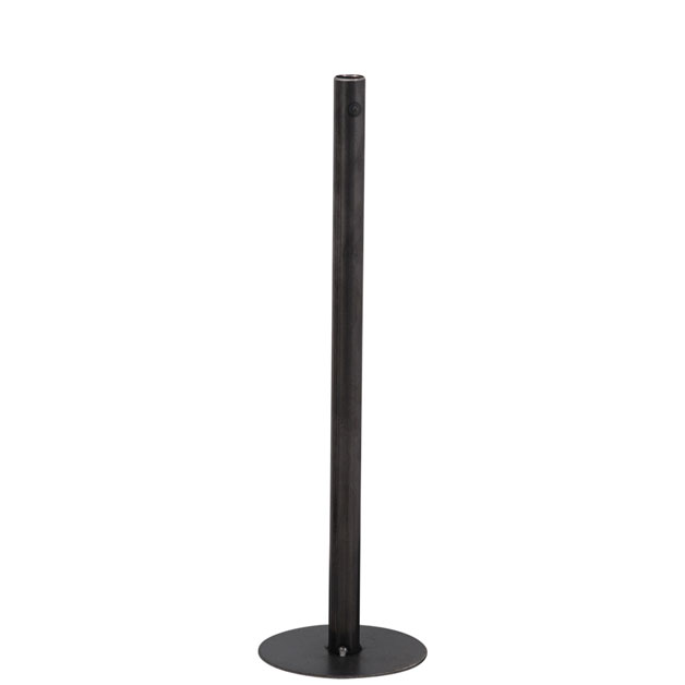 CANDLE HOLDER CHIMNEY LARGE BLACK i gruppen Dekoration / Ljuslyktor hos Miljögården (429685)