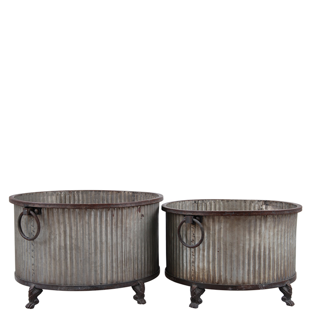 metal pot zachery 2 set
