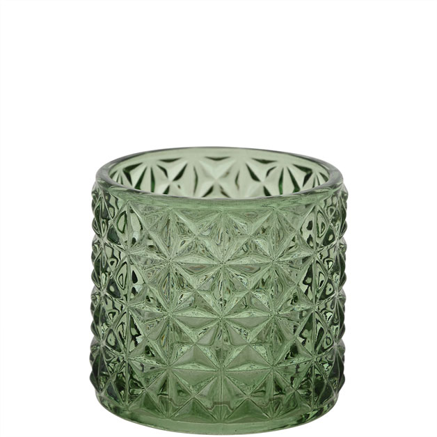 CANDLE HOLDER EMMA SMALL GREEN i gruppen AW2020 hos Miljögården (583060)