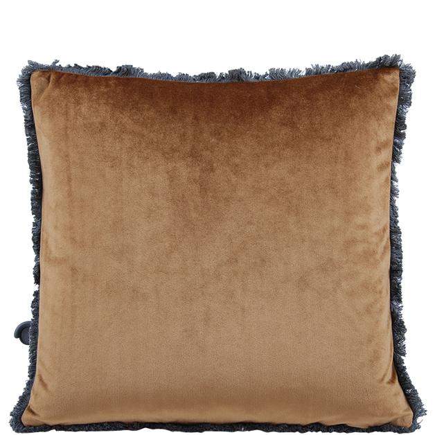 CUSHION COVER VERSAILLES 45X45CM LIGHT BROWN i gruppen Textilier / Kuddar & Dynor hos Miljögården (633151)