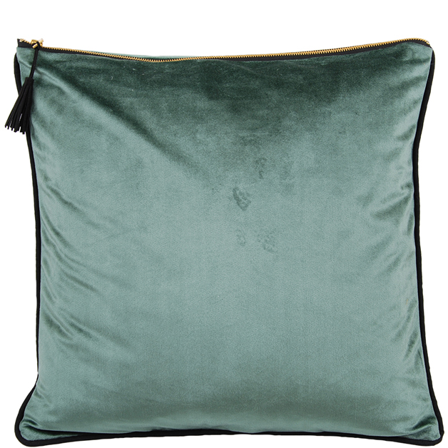 CUSHION COVER CHAMBORD 45X45CM LIGHT GREEN i gruppen Textilier / Kuddar & Dynor hos Miljögården (633560)