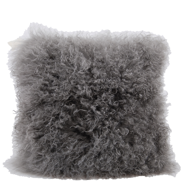 CUSHION COVER FURRY 40X40 GREY i gruppen Textilier / Kuddar & Dynor hos Miljögården (635902)