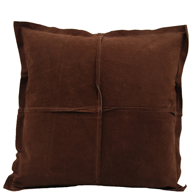 CUSHION COVER PARIS SUEDE 45X45CM BROWN i gruppen Textilier / Kuddar & Dynor hos Miljögården (639090)