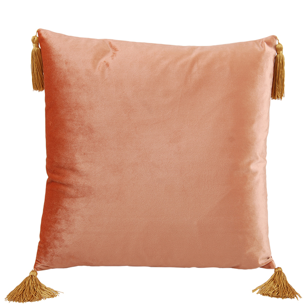 CUSHION COVER ASHLEY 45X45CM PEACH i gruppen Textilier / Kuddfodral hos Miljögården (640220)