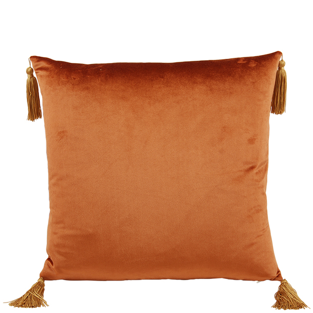 CUSHION COVER ASHLEY 45X45CM RUST i gruppen Textilier / Kuddfodral hos Miljögården (640230)
