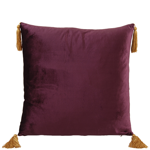 CUSHION COVER ASHLEY 45X45CM PURPLE i gruppen Textilier / Kuddfodral hos Miljögården (640236)