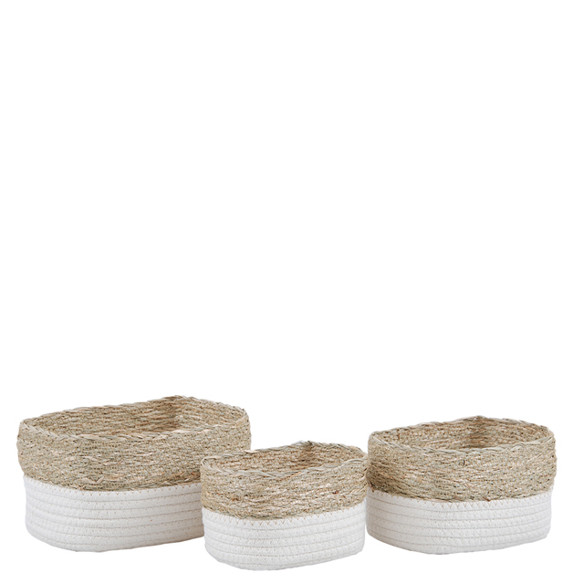 basket rope set of 3