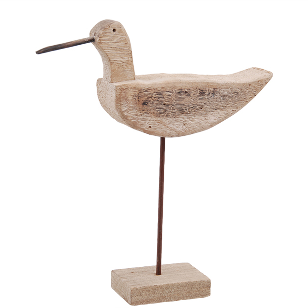 large bird on stand sculpture