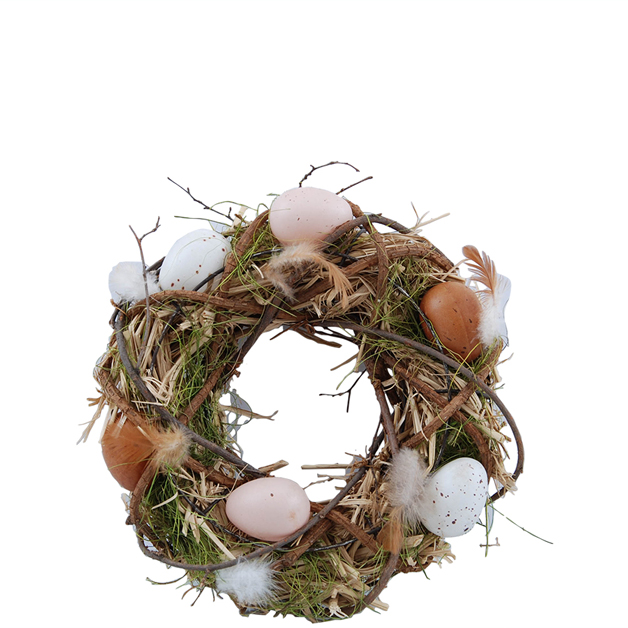 wreath mixed eggs small