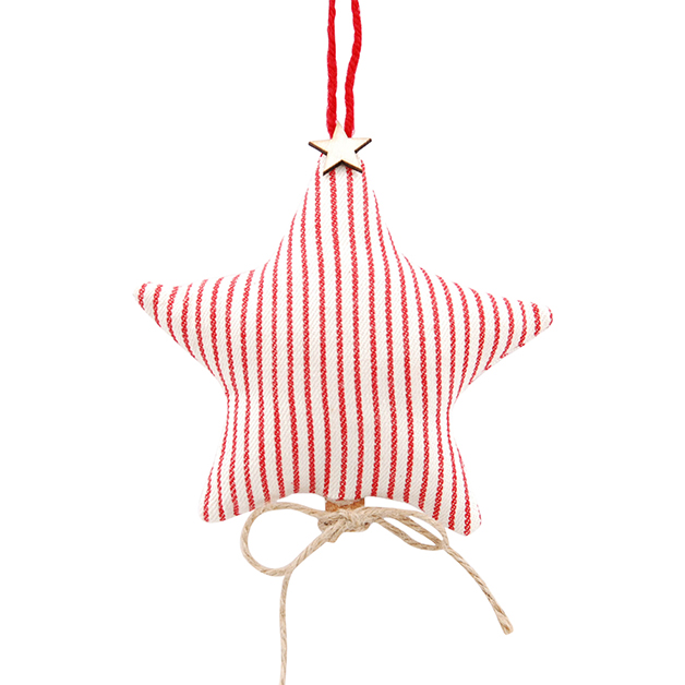 FABRIC CHRISTMAS STAR WITH CINNAMON i gruppen Säsong / Jul hos Miljögården (937940)