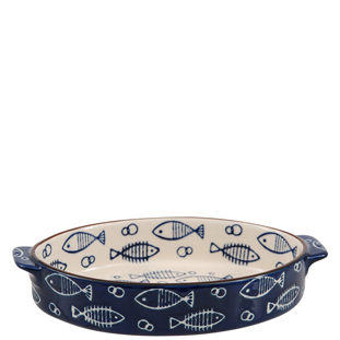 BAKEWARE OCEAN BLUE SMALL