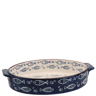 BAKEWARE OCEAN BLUE MEDIUM