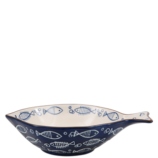 BOWL OCEAN BLUE LARGE