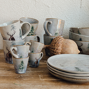 MUG WINTER GREY
