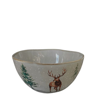 BOWL WINTER GREY