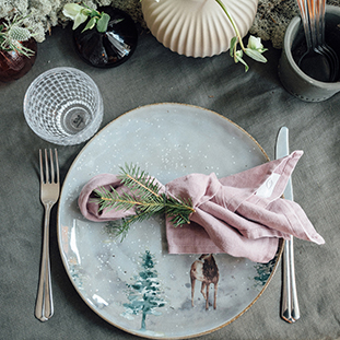 PLATE WINTER LARGE