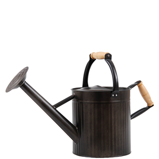 WATERING CAN BLACK SMALL