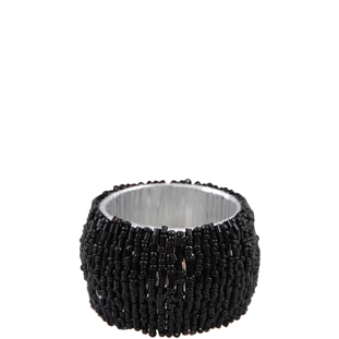 NAPKIN RING LINDA BLACK