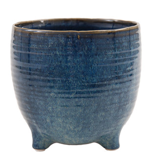 POT AMELIA LARGE 17 BLUE