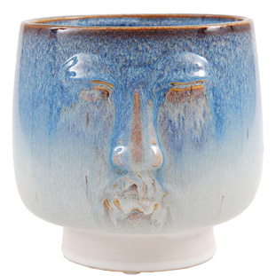 POT AUQUI LARGE 18,5 BLUE