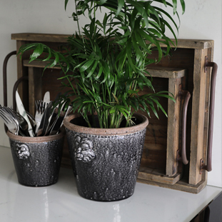 POT LION SMALL BLACK