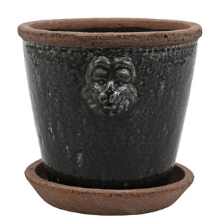 POT LION MEIDUM BLACK