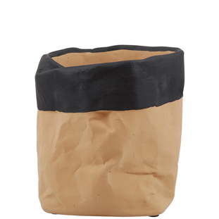 POT PAPERBAG CEMENT MEDIUM