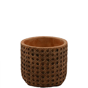 POT WICKER SMALL