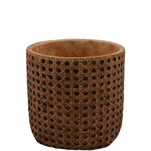 POT WICKER MEDIUM