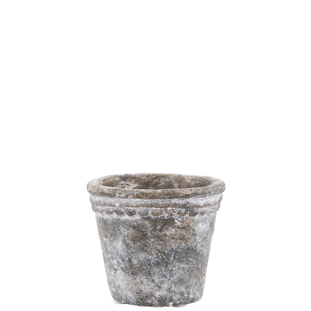 POT ELIOTT 11CM SMALL GREY