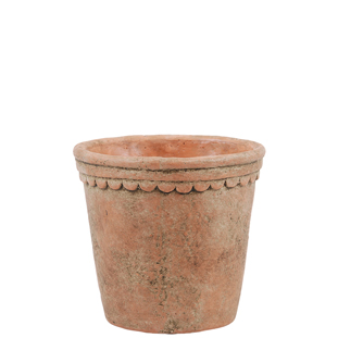 POT ELIOTT 16CM MEDIUM TERACOTTA