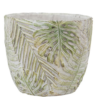 POT PALMS MEDIUM 15,5CM GREEN