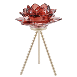 CANDLE HOLDER AZU PINK