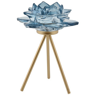 CANDLE HOLDER AZU BLUE