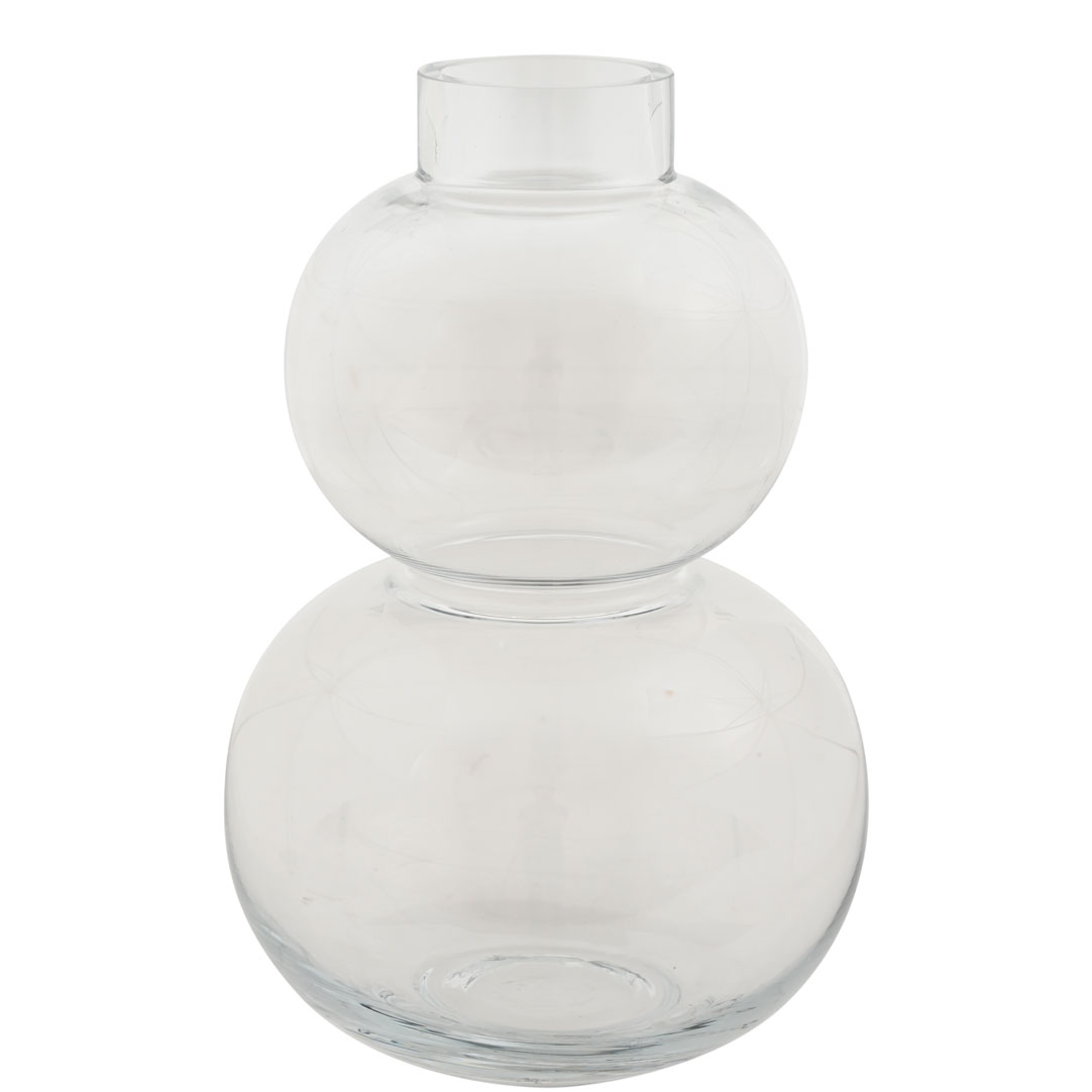 VASE RETRO SMALL CLEAR