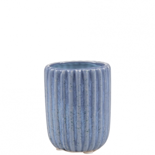 POT BLUE GLACE MINI STRIPES