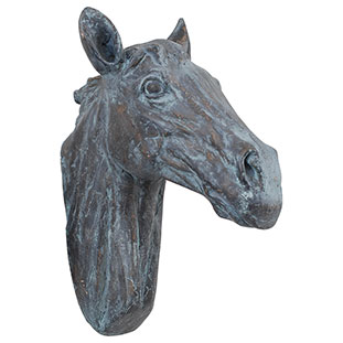 WALL DECORATION HORSE HEAD