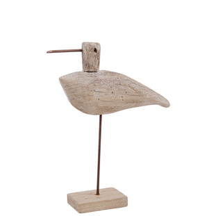 DECORATION BIRD DRIFTWOOD