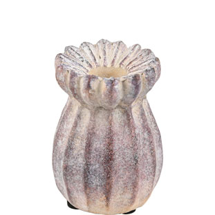 CANDLE HOLDER AMELIE PURPLE