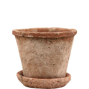 POT HESTIA SMALL Ø14,5CM TERRACOTTA