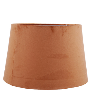 LAMP SHADE VELVET LUX E27 37X24CM ORANGE LARGE