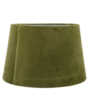 LAMP SHADE LUX VELVET LARGE Ø37CM GREEN E27