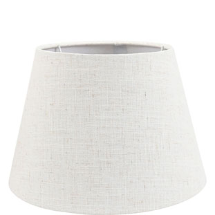 LAMP SHADE CHANTAL E14/E27 DIA 30 CM BEIGE
