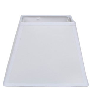 LAMP SHADE SQUARES WHITE E14