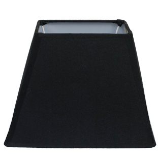 LAMP SHADE SQUARES BLACK E14