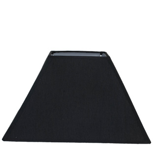LAMP SHADE SQUARE SMALL BLACK E14